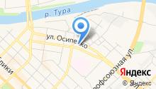 Нотариус Ковалева Ж.В. на карте
