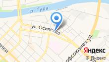 Тюменский деловой клуб на карте