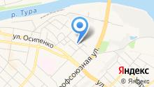 Проектировщик, ЗАО на карте