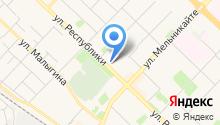 AutoService на карте