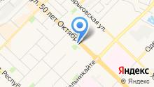Анфас на карте