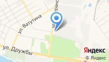 Ясень, ЗАО на карте