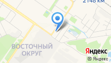 Магистраль на карте