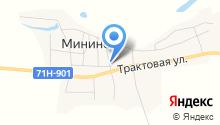 Продуктовый магазин на Молодежной на карте