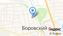 Боровская средняя общеобразовательная школа на карте