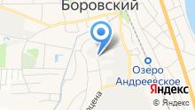 Пышмаавтодор, ЗАО на карте
