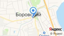 Мировой судья судебного участка №1 Тюменского судебного района п. Боровский на карте