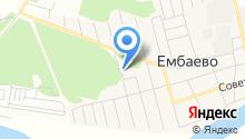 Ембаевское ЖКХ, МУП на карте