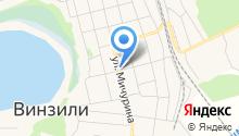 На Мичурина на карте
