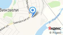 Магазин автозапчастей на Заводской на карте