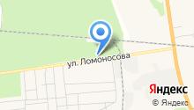 Богандинский центр спорта на карте