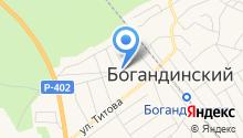 Богандинская библиотека №2 на карте