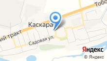 Черный гусь на карте