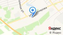 ТюмГНГУ на карте