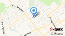 Исетский межрайонный центр ветеринарии в Ялуторовском районе на карте