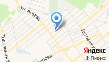 Ялуторовская районная станция по борьбе с болезнями животных на карте