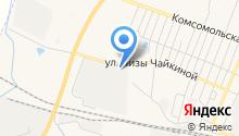 АЗС на ул. Лизы Чайкиной на карте