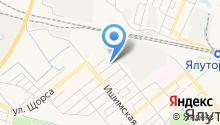 Тюменская дезинфекционная станция, ФГУП на карте