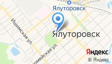 Ялуторовское районное потребительское общество на карте