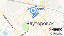 Магазин обуви на ул. Ленина на карте
