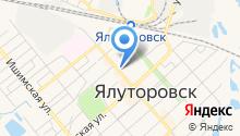 Газпром-Оптика на карте