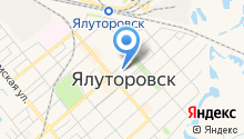 Управление социальной защиты населения г. Ялуторовска и Ялуторовского района на карте
