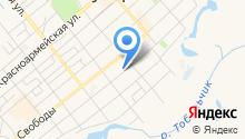 Ялуторовский районный суд на карте