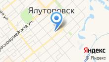 Автомойка на ул. Оболенского на карте