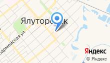 Картинг центр г. Ялуторовск на карте