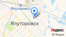 Ялуторовская межрайонная прокуратура на карте