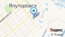 Администрация Ялуторовского муниципального района на карте