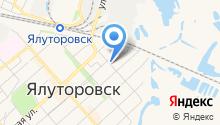 Комитет ЗАГС администрации г. Ялуторовска на карте