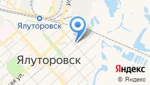 Ялуторовский отдел ЗАГС на карте