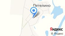 Петелинская средняя общеобразовательная школа на карте