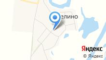 Сеть продуктовых магазинов на карте