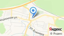 Кремень на карте