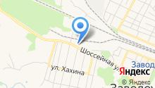 Магазин мебели на Шоссейной на карте