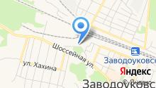Заводоуковский элеватор на карте