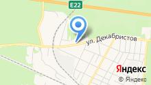 Продуктовый магазин на ул. Декабристов на карте