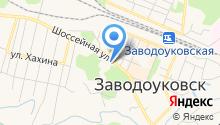 25 отряд ФПС по Тюменской области на карте
