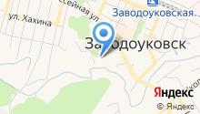 Комитет образования Администрации г. Заводоуковска на карте