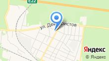 Залинейный на карте