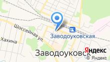 Заводоуковский культурно-досуговый центр на карте