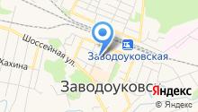 Общественная приемная депутатов Областной Думы Казанцевой Т.Н. и Чертищева В.С. на карте