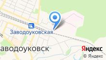 Заводоуковская туберкулезная больница на карте