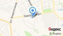 Сельский дворик на карте