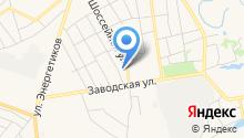 ЦентрСтрой на карте
