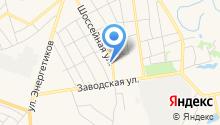 Ремонтная мастерская на Шоссейной 11/1 на карте