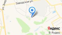 Компания металлопроката на карте