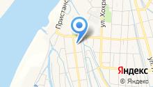 Тобольский район водных путей и судоходства на карте